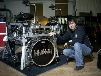Rick Allen S Kit With Def Leppard